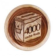 Geo Score Woody - 4000 Finds