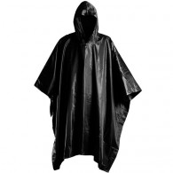 Waterproof army poncho - Black