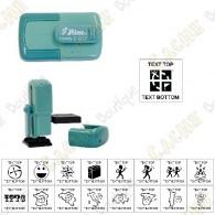 Tampon de poche personnalisable - 17mm