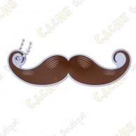 "Traveler ""Take a Stachie - Handlebar"" - Brown"