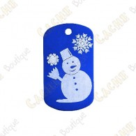 "Traveler ""Bonhomme de neige"" - Bleu"