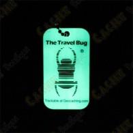 Travel bug QR - Phosphorescent