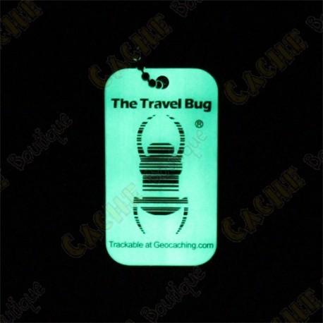 Travel bug QR - Glow in the dark