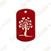 "Traveler ""Heart Tree"" - Vermelho"