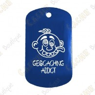 "Traveler ""Geocaching Addict"" Boy - Blue"