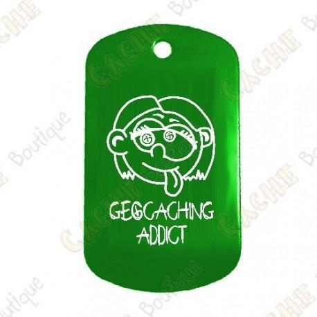 "Traveler ""Geocaching Addict"" Girl - Green"