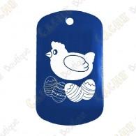 """Traveler """"Easter Hen"""" - Blue"""