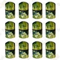 """Nano Cache con imán """"Geo"""" x 12 - Camuflaje Verde"""