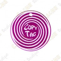 Copy Tag - Geocoin/Traveler de secours - Violet