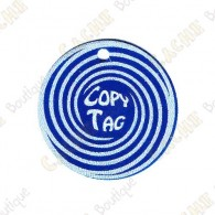 Copy Tag - Geocoin/Double tag - Blue