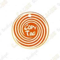Copy Tag - Geocoin/Traveler de secours - Orange