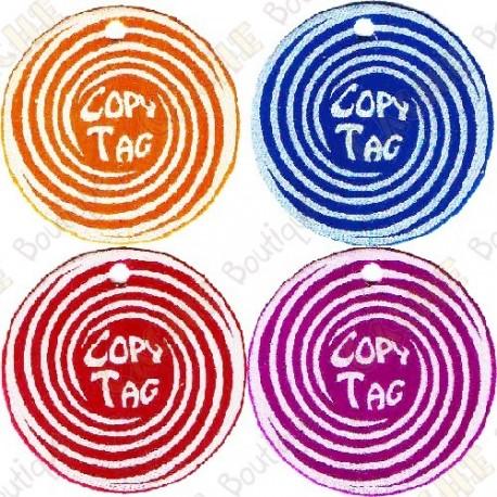 Copy Tag - Geocoin/Double tag x4