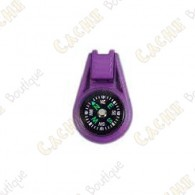 Mini compass - Purple