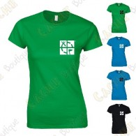 "Camiseta trackable ""Discover me"" Mujer"