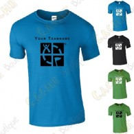 T-shirt with your Teamname, for Men