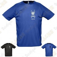 Trackable technical T-shirt with your Teamname, for Men