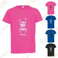 """T-Shirt technique trackable """"Travel Bug"""" Enfant"""
