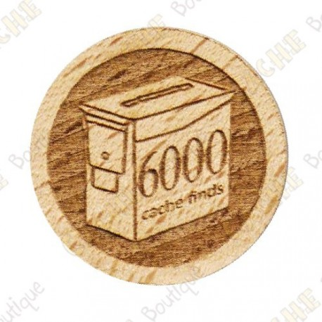 Geo Score Woody - 6000 Finds