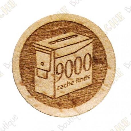 Geo Score Woody - 9000 Finds