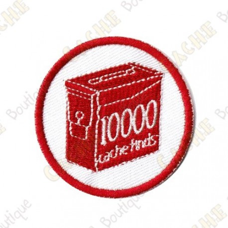 Geo Score Patch - 10 000 Finds