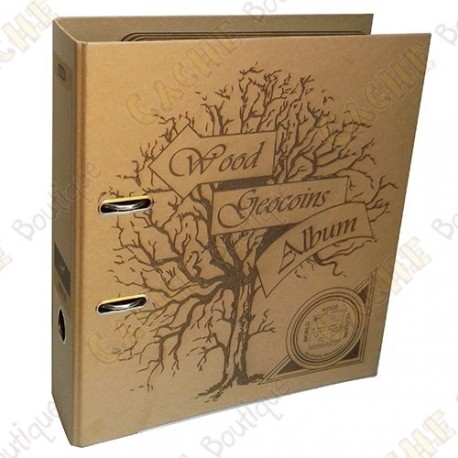 Wood coins album