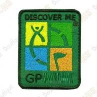 Groundspeak logo trackable patch - Quadricolor / Khaki