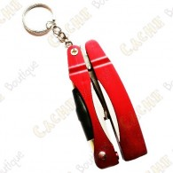 Pen Light Scissor keychain