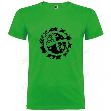 """T-shirt """"Geo-Brushwood"""" Homem"""