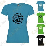 """Geo-Brushwood"" T-shirt for Women"