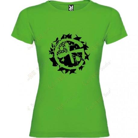 """Geo-Brushwood"" T-shirt for Women"