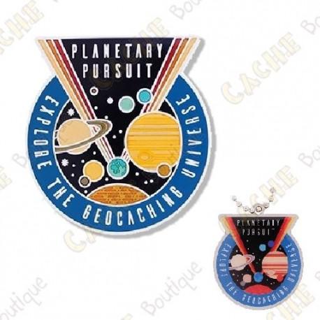 "Geocoin ""Planetary Pursuit"" + Copy tag"