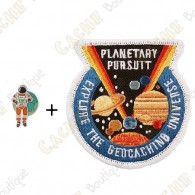 "Micro Coin ""Planetary Pursuit"" + Patch"