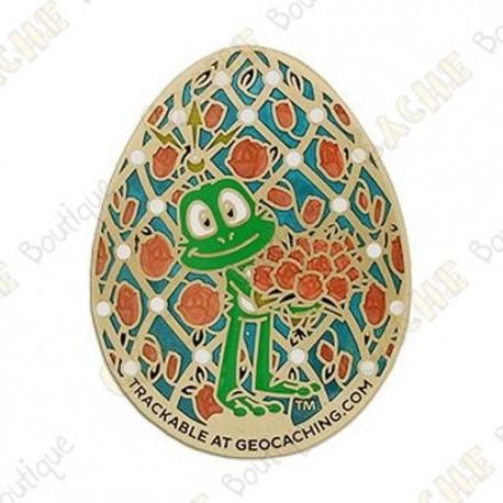 "Geocoin ""Signal Egg"""