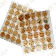 Bandeja para wood coins - 30 cajas