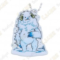 """Hidden Creatures"" Travel tag - Yeti"