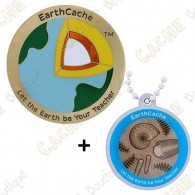 "Geocoin ""Earthcache"" 2018 + Traveler"