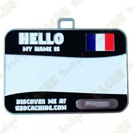 Name tag trackable - França