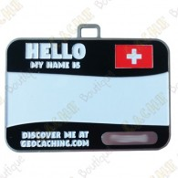 Name tag trackable - Suisse
