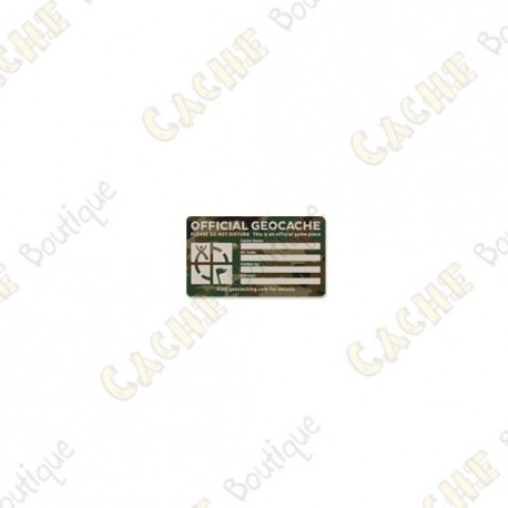 "Sticker ""Small"" - Camuflagem"