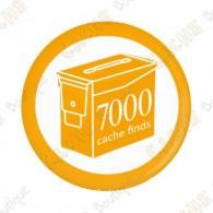 Geo Score Badge - 7000 Finds