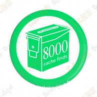 Geo Score Button - 8000 finds