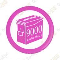 Geo Score Button - 9000 finds