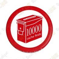 Geo Score Button - 10 000 finds
