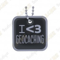 "Travel tag ""I love Geocaching"""