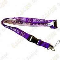 Lanyard Geocaching - Púrpura