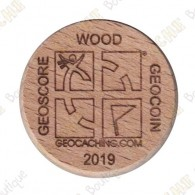 Geo Score Woody - 100 Finds