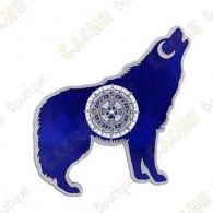 "Geocoin ""Wolf"" - Blue"