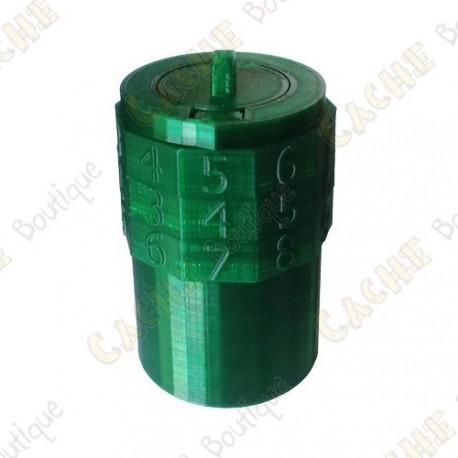 Code cache box - 3 digits - Green