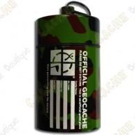 "Micro cache ""Official Geocache"" 10 cm - Camuflagem"