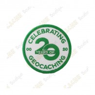 "Remendo ""20 Years of Geocaching"""